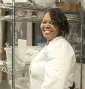 Tanesha Watkins - founder of Tee Tee's Treats & Sweets in Oak Park, IL